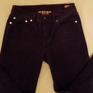 Tory Burch Classic Boot Cut Corduroy Pants